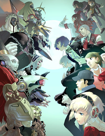 Persona 3 B2 poster